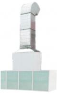 PP 411 Пост подготовки к окраске без верхнего пленума и с боковым забором воздуха